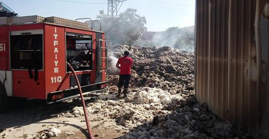 Urfa OSB'de yangını