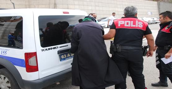 Urfa otogarında bir kişi gözaltına alındı