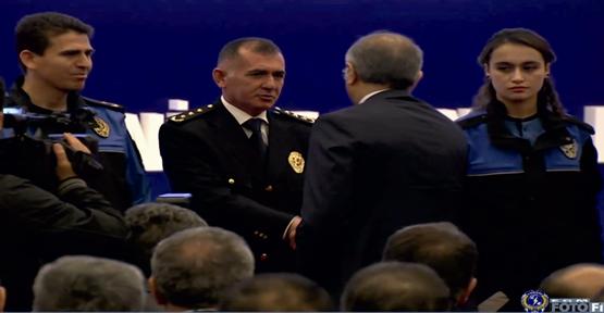 Urfa polisi Türkiye 3.üncüsü oldu.