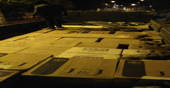 Urfa polisinden kaçak sigara operasyonu