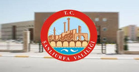Urfa Valisi Ankara'ya çağrıldı...