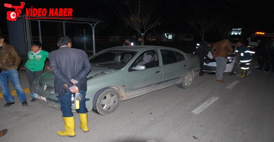 Urfa' zincirleme kaza, 2 yaralı