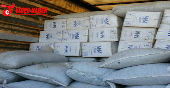 Urfa'da 127 bin paket sigara ele geçirildi