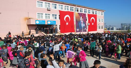 Urfa'da 80 okul hizmete giriyor