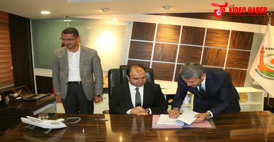 Urfa'da 939 Belediye Çalışanına Sözleşme