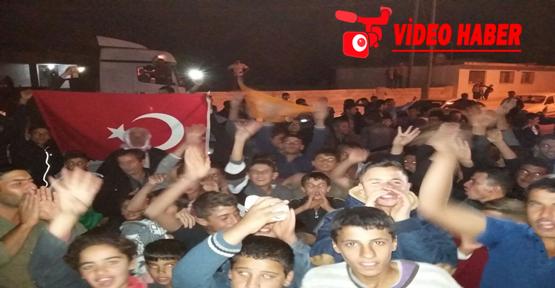 Urfa'da AK Parti sevinci sokaklara taştı