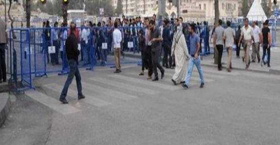 Urfa'da başbakan hazırlığı