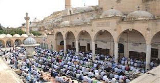 Urfa'da bayram namaz saati