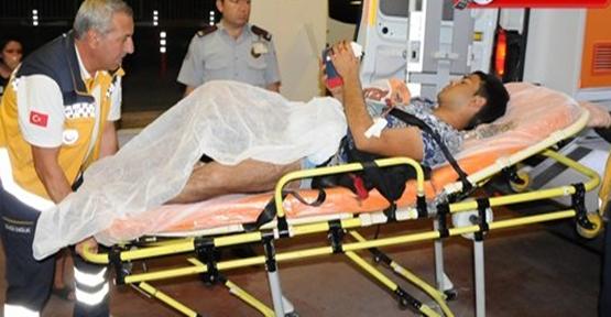 Urfa'da bıçaklı kavga, 1 yaralı