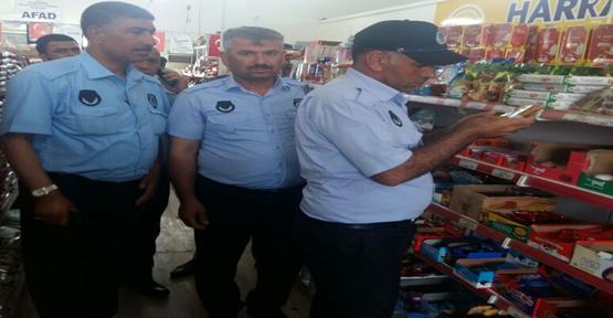 Urfa'da bozuk ürünler imha edildi