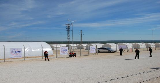 Urfa'da bulunan Çadırkentlere yasak getirildi
