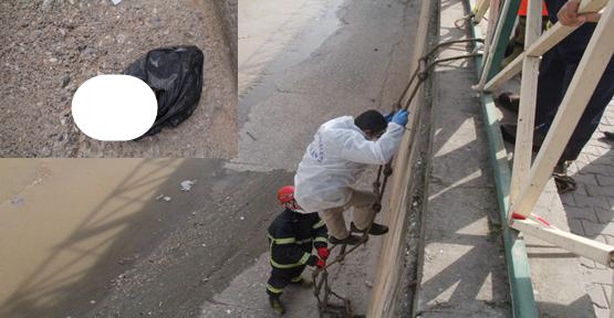Urfa'da dereye atılmış ceset bulundu