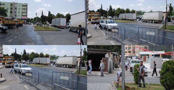 Urfa'da Erdoğan hazırlıkları başladı