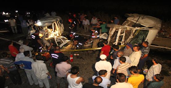 Urfa'da feci kaza 4 ölü