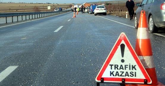 Urfa'da İki Otomobil Çarpıştı: 1 Ölü, 7 Yaralı