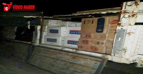 Urfa'da kaçak sigara operasyonu