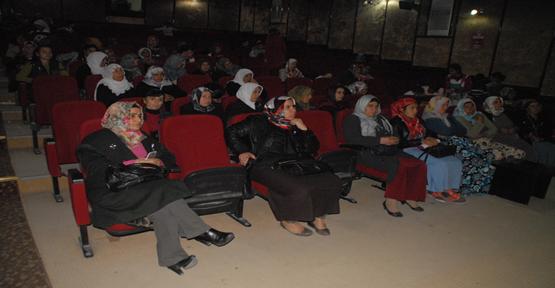 Urfa'da kadına şiddet paneli yapıldı