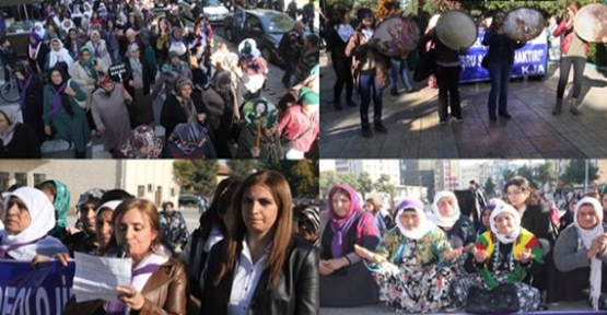 Urfa'da Kadına Yönelik Şiddet Yürüyüşü