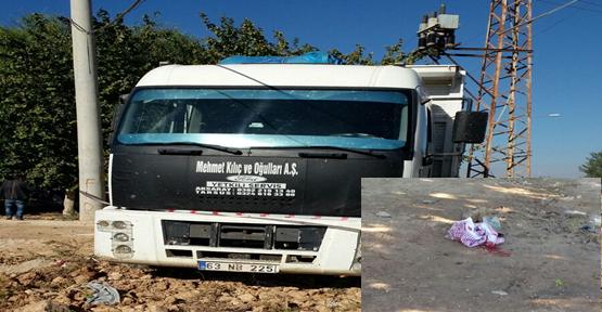 Urfa'da kamyon kaldırıma çıktı, 2 ölü, 4 yaralı