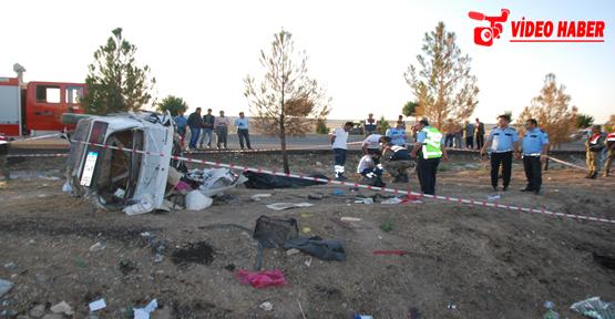 Urfa'da kaza, 1 ölü, 3 yaralı