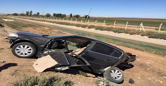 Urfa'da kaza, 5 yaralı