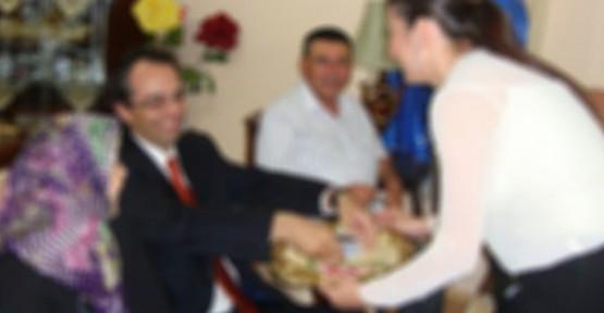 Urfa'da kontör dolancıların kız isteme işi