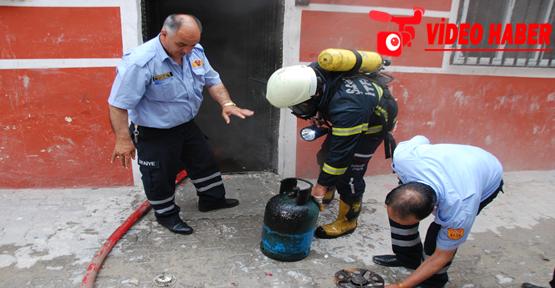 Urfa'da korkutan yangın