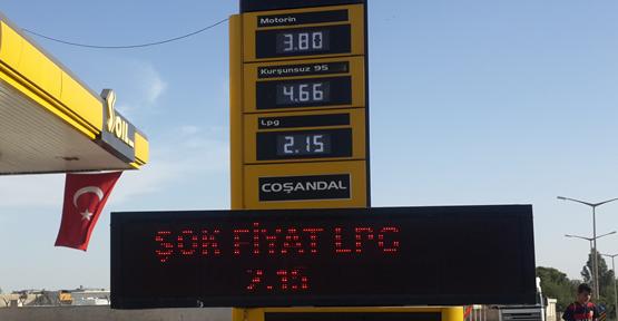 Urfa'da LPG 2,15 TL Oldu