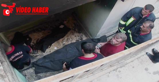 Urfa'da mesken yangını, 2 ölü