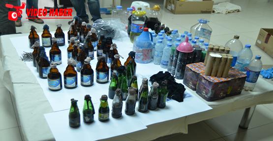 Urfa'da Molotof operasyonu, 6 gözaltı