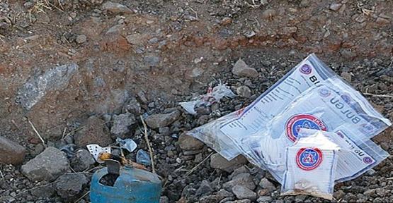 Urfa'da patlayıcı ele geçirildi