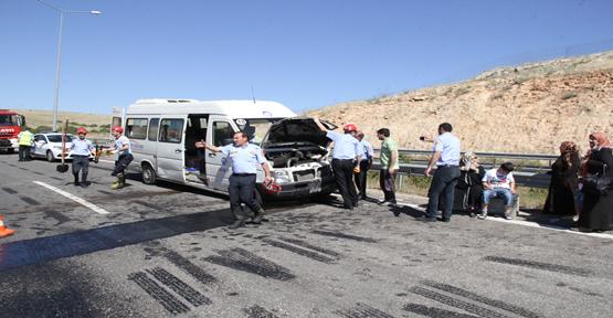 Urfa'da piknik kazası. 13 yaralı