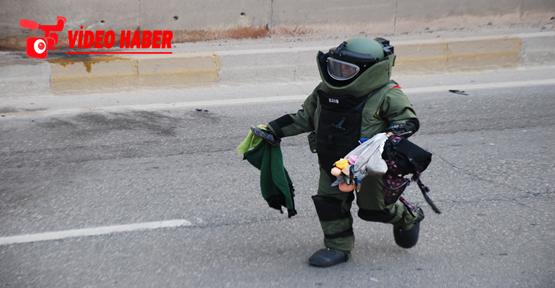 Urfa'da şüpheli çanta korku dolu anlar yaşattı