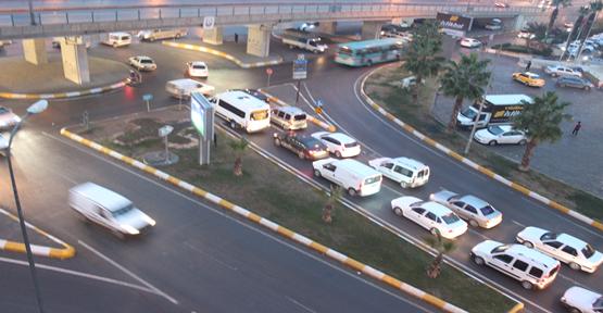Urfa'da trafik çilesi devam ediyor