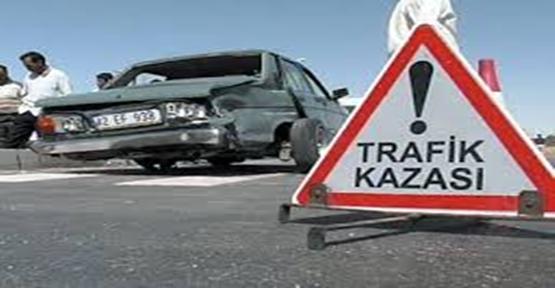 Urfa'da trafik kazası,1 ölü, 3 yaralı