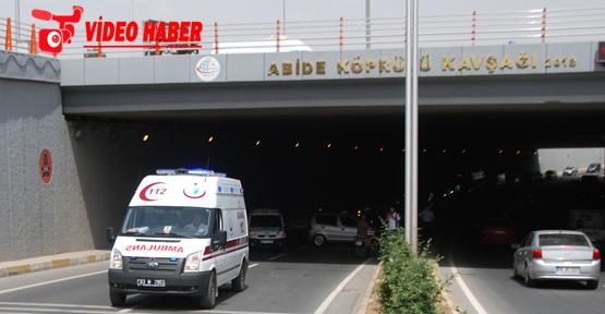 Urfa'da trafik kazası,1 yaralı