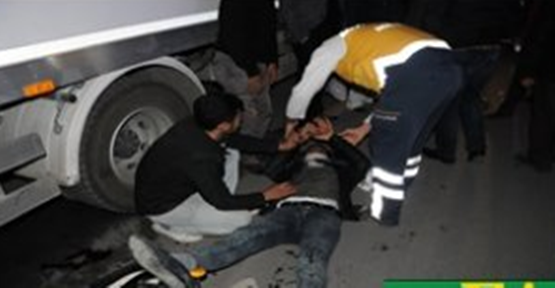 Urfa'da trafik kazası,2 yaralı