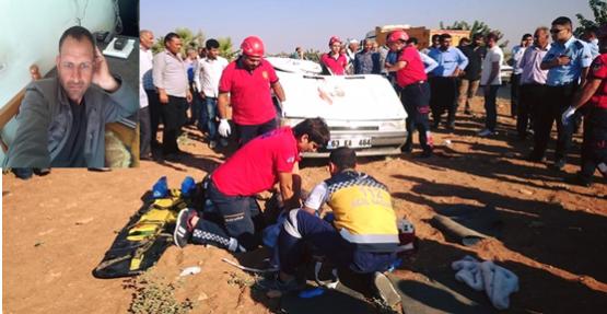 Urfa'da trafik kazası 1 ölü 3 yaralı