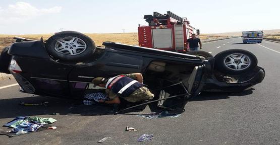 Urfa'da trafik kazası, 4, yaralı