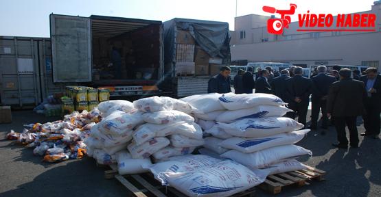 Urfa'da Türkmenlere yardım