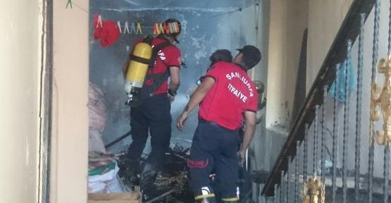Urfa'da yangın hasara yol açtı