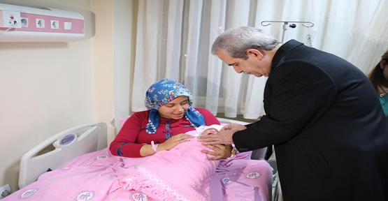 Urfa'da Yeni Yılın İlk Bebeği