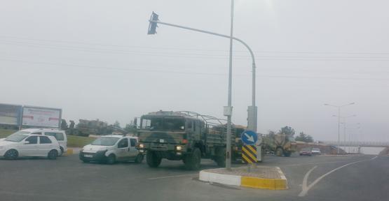 Urfa'dan tank sevkiyatı