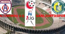 Altınorduspor 1-0 Şanlıurfaspor