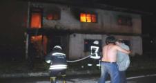 Urfa'da yangın 2 ölü