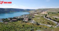 Halfeti'de turist yoğunluğu