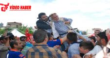 Urfa'da Erdoğan izdihamı