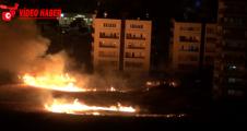 Karaköprü'yi korkutan yangın