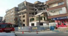 Şanlıurfa'da Bina Çöktü