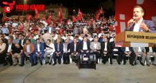 Bakanı Faruk Çelik, Erdoğan'ı Yedirmeyiz